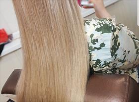 Наращивание волос + Окрашивание волос