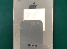 Замена заднего стекла айфон Xs