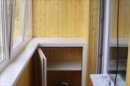 Отделка балкона и кухни