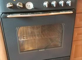 Замена нижнего Тэна и уплотнителя духовки в стеклокерамической напольной плите