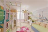 Дизайн проект квартиры. г.Москва, ул. Гурьянова. 3d визуализации