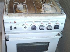 Замена плиты с устанокой нового крана и подводки