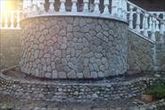 Ремонт облицовки балкона из натурального камня