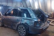 Замена крыла и крыши Range Rover