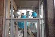 Монтаж декоративных шаров