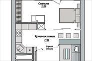 Перепланировка квартиры свободной планировки