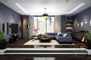 Дизайн проект квартиры студия 110 кв. м Нью Йорк