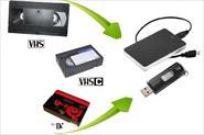 Оцифровка видеокассет (VHS, VHS-C, MiniDV)