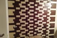 Монтаж стеновых панелей дуб/сосна