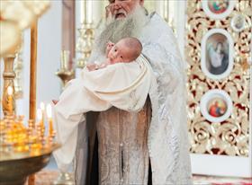 семья, дети крещение