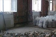 Полный демонтаж в сталинке с выносом и вывозом мусора
