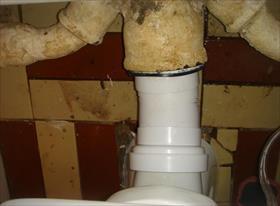 монтаж новых труб канализации