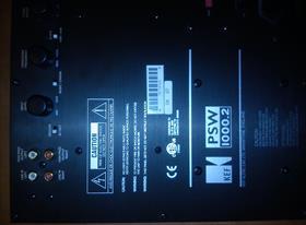 Ремонт сабвуфера KEF PSW 1000.2