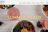 Сайт-презентация компании Eatnoon Mediterranean