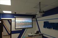 Установка проектора и экрана