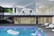 Визуализация дизайн-проекта фитнес клуба в г. Москва