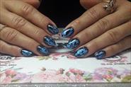 Наращивание ногтей,покрытие гель лаком