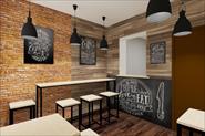 Кофейня 3D визуализация