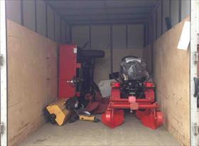 Перевозка трактора   и к нему комплектующие