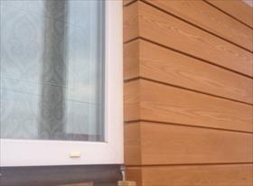 Фасадная доска снаружи