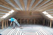 Монтаж окна в готовую  утеплённую крышу