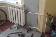 Врезка кранов на радиаторы