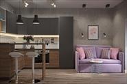 Однокомнатная квартира для девушки в ЖК Первый Клубный