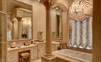 Как подобрать богатый интерьер ванной
