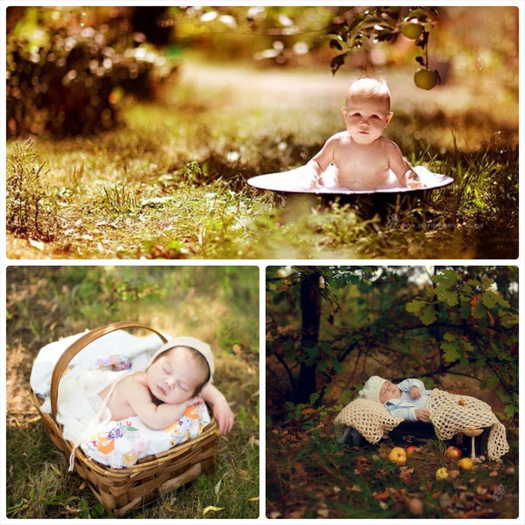 фотосессия на природе дети