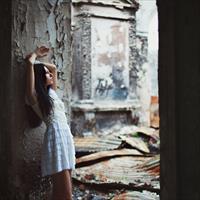 Фотосессия в заброшенном здании