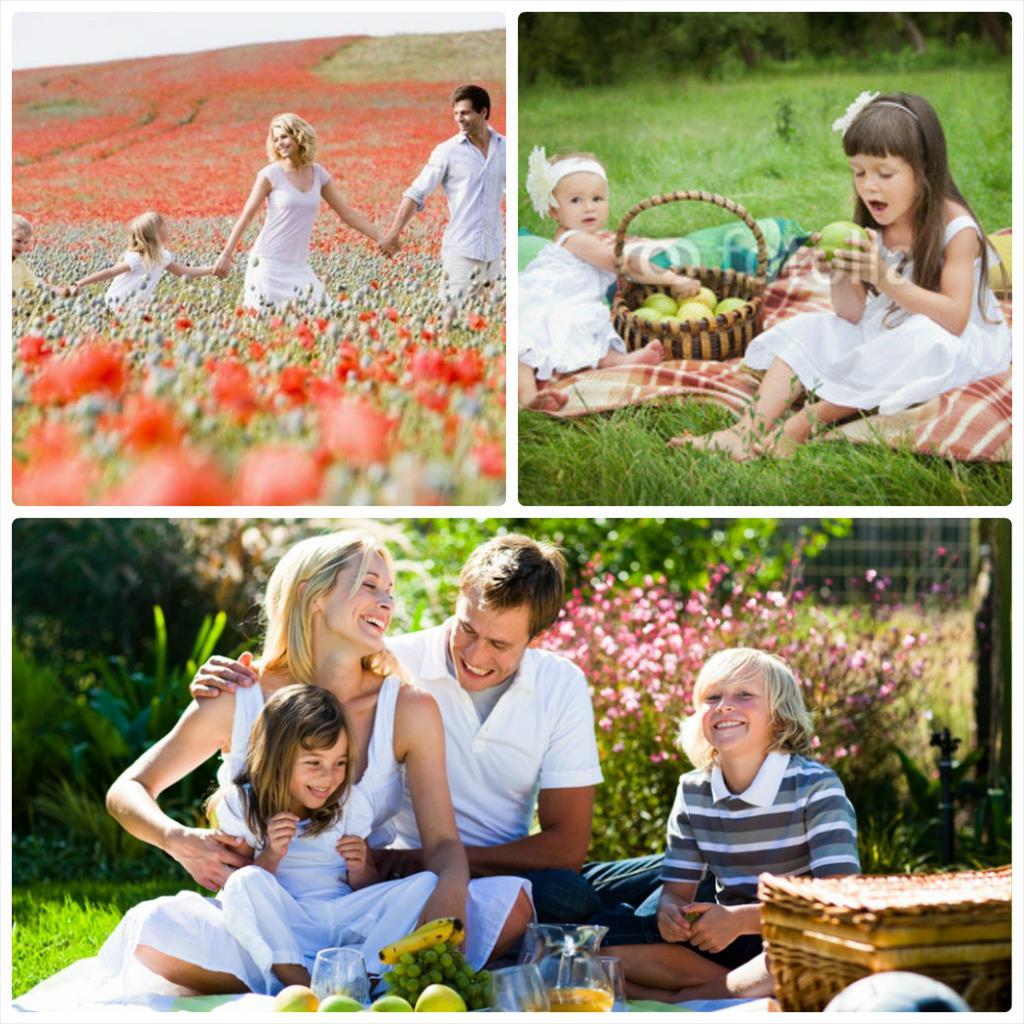 семейная фотосессия с ребенком