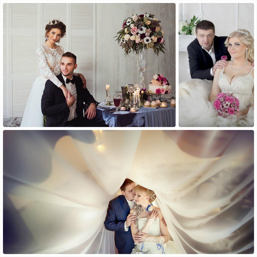 свадебные фотографии зимние