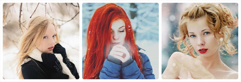 фотосессии зимой